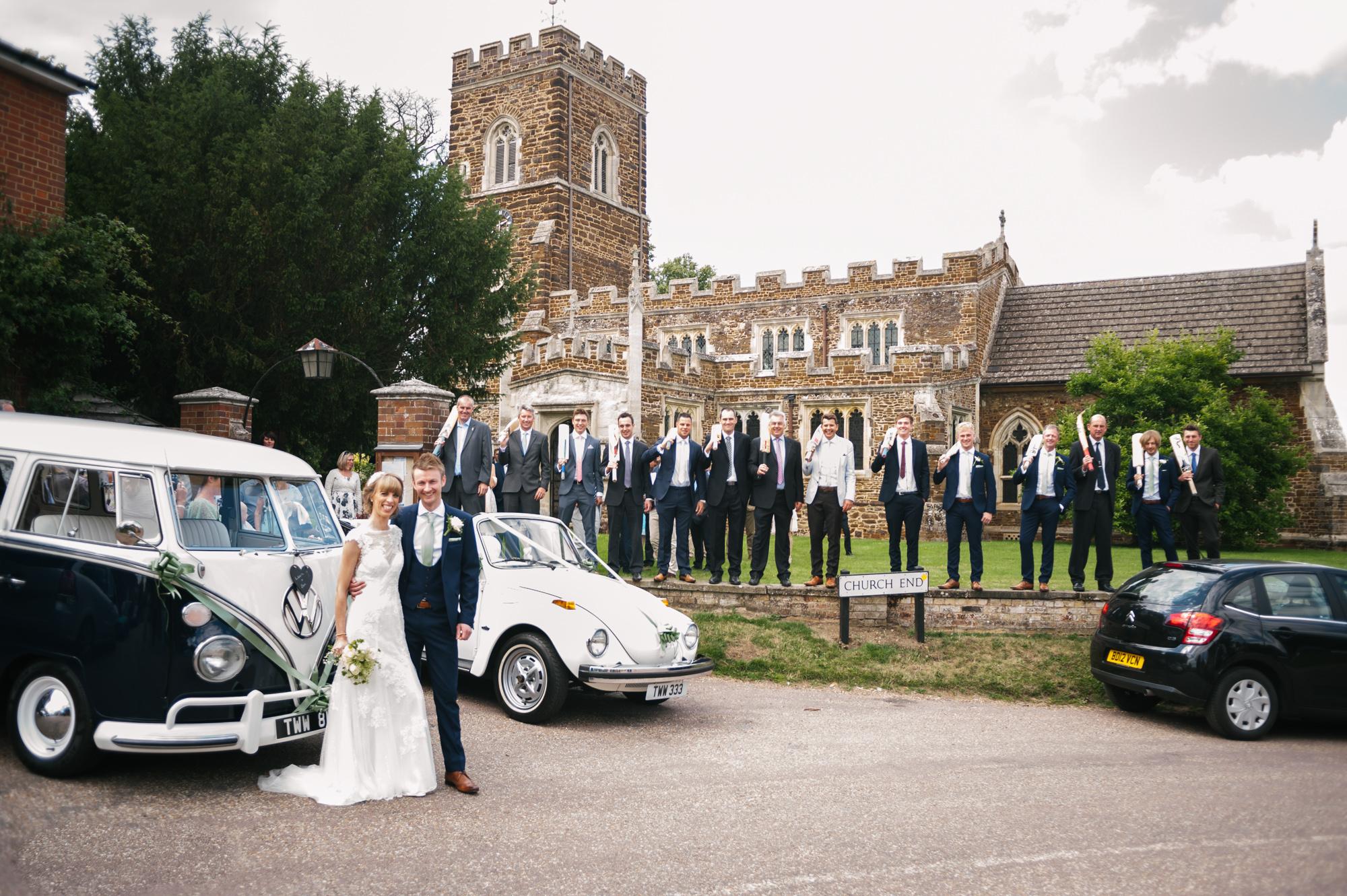 Cricket Club Wedding Tea Party Eversholt Bedfordshire-38