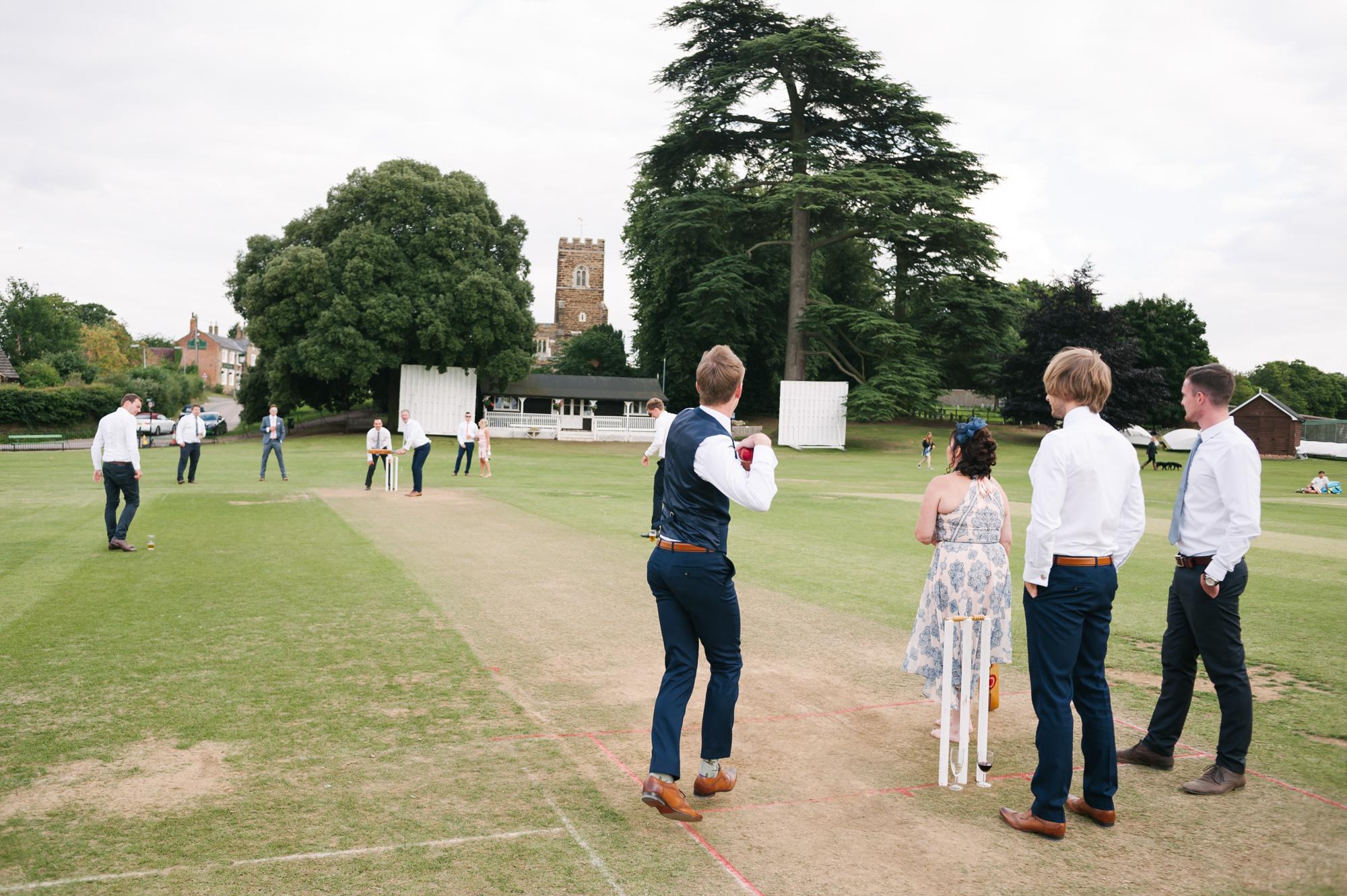 Cricket Club Wedding Tea Party Eversholt Bedfordshire-65