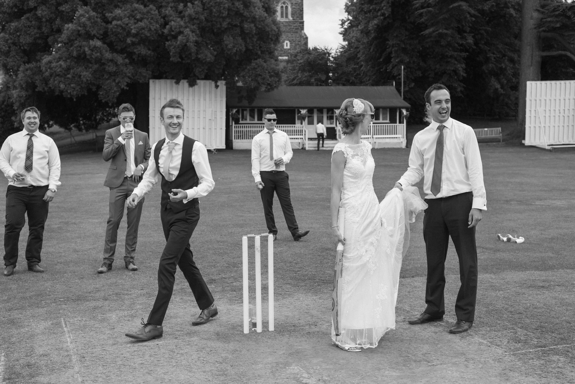 Cricket Club Wedding Tea Party Eversholt Bedfordshire-67