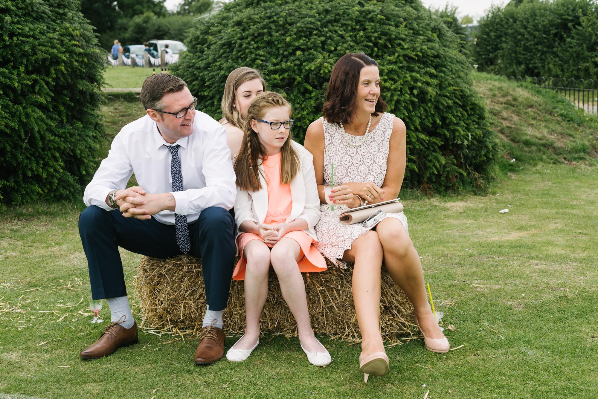 Cricket Club Wedding Tea Party Eversholt Bedfordshire-68