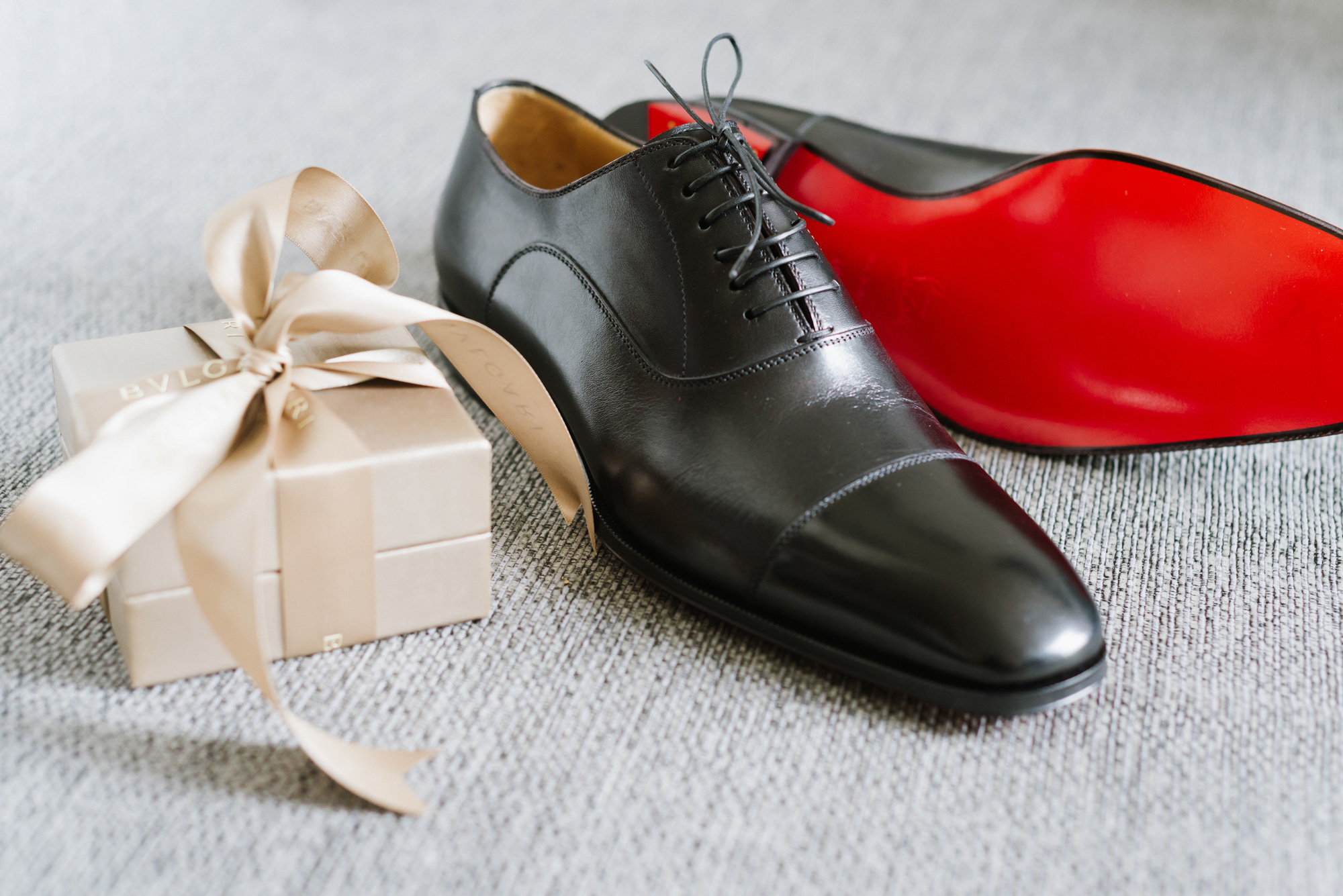 mens black louboutain shoes red sole wedding