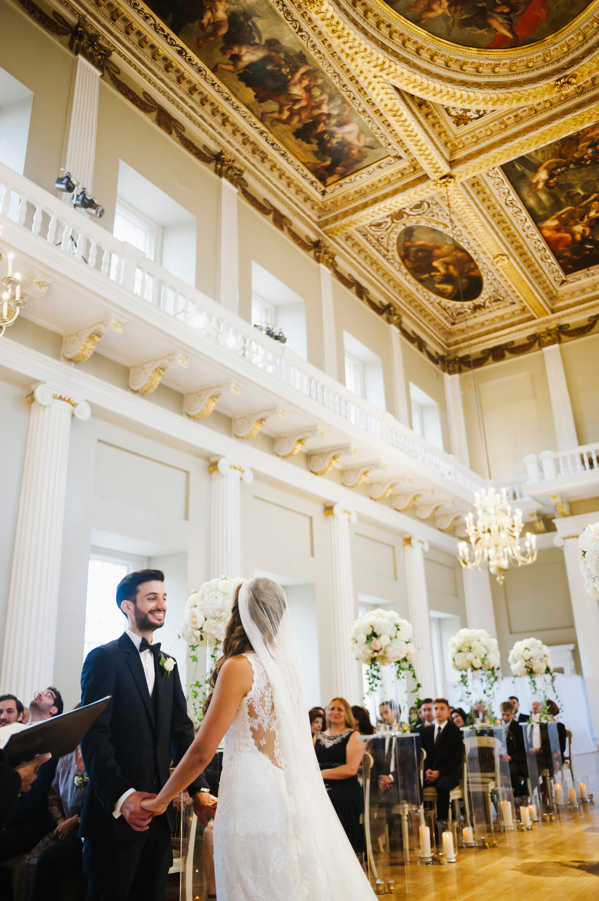 wedding at banqueting house london