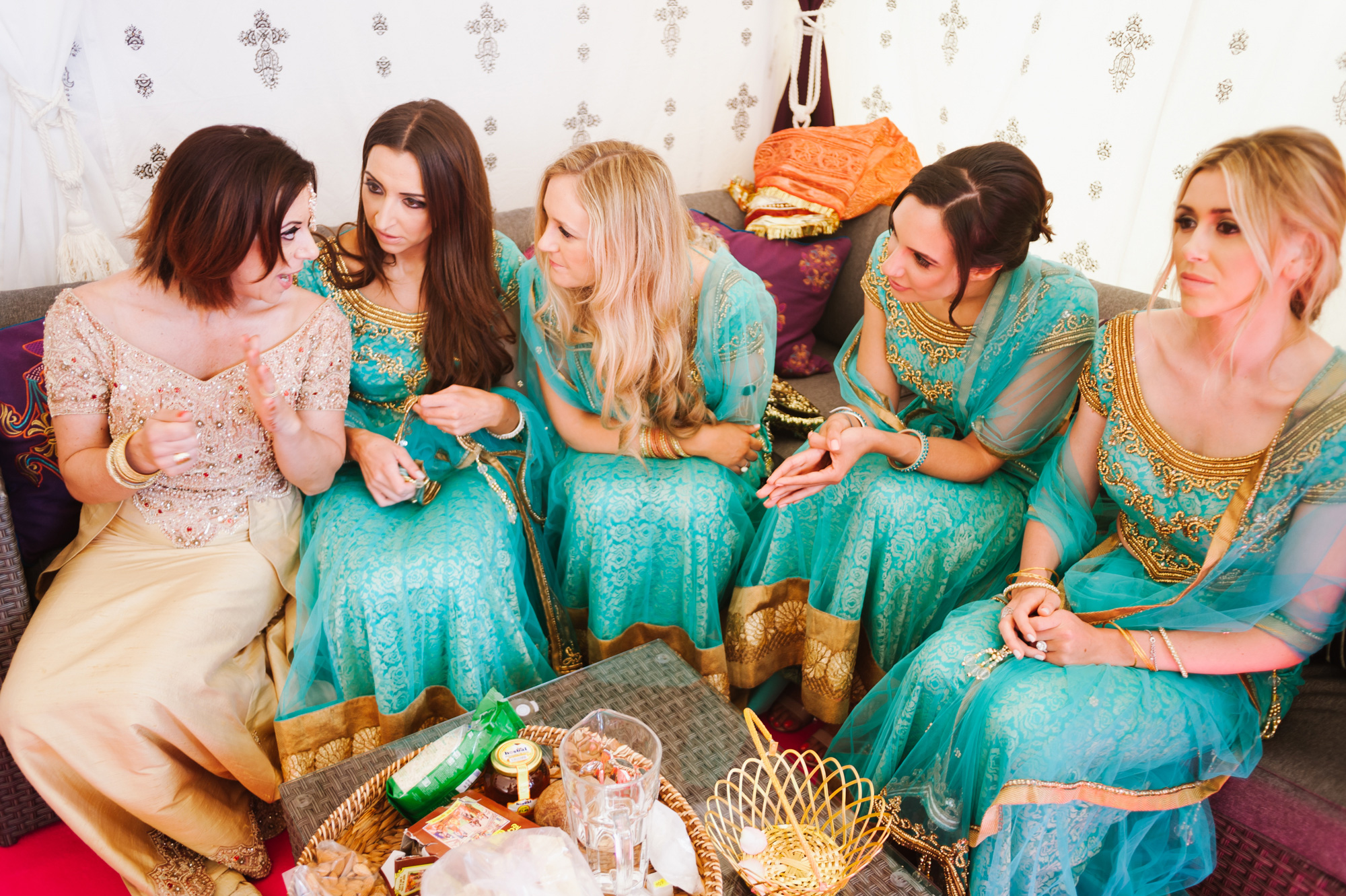 bridesmaids indian wedding solihull