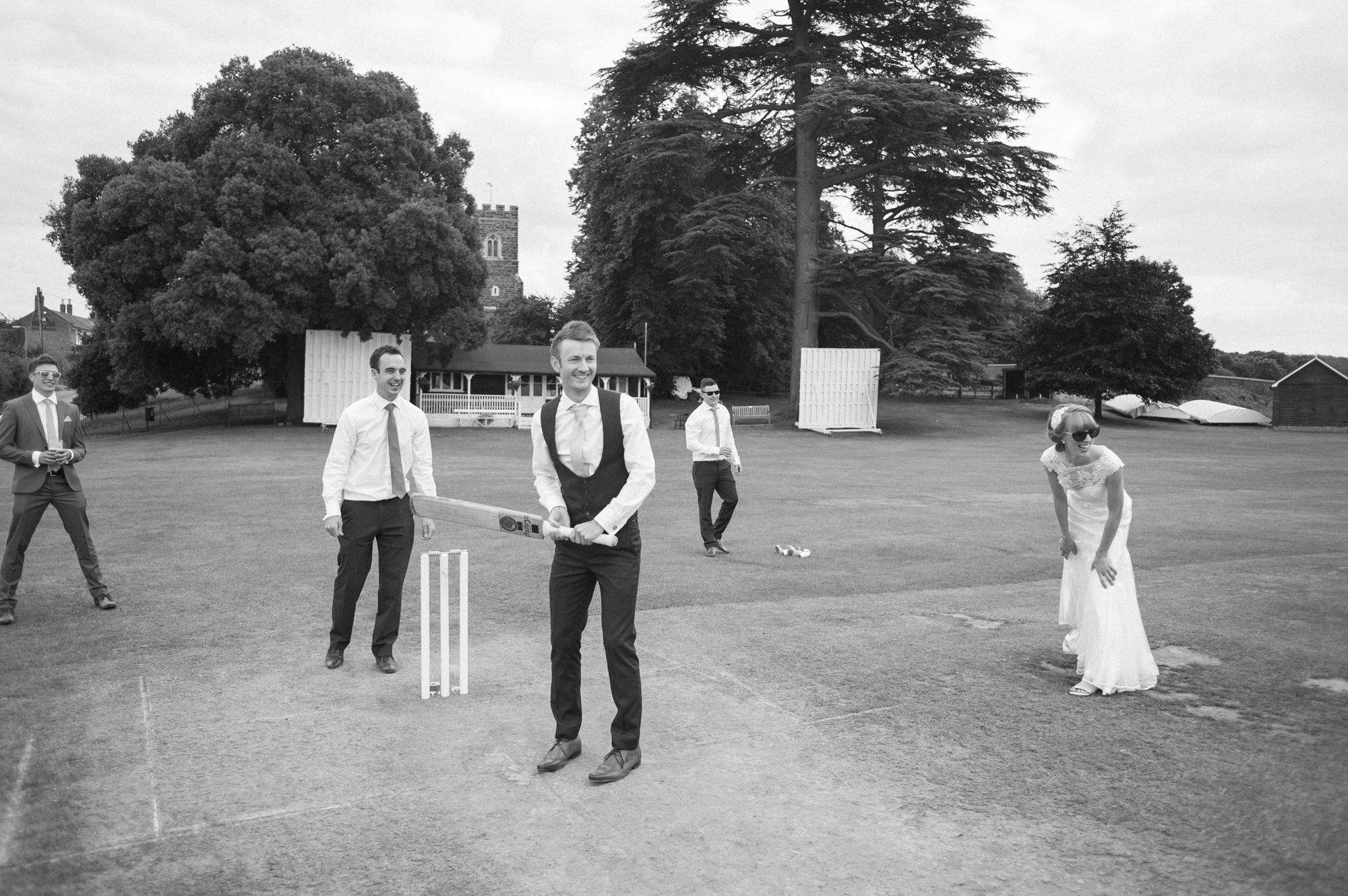 Cricket Club Wedding Tea Party Eversholt Bedfordshire-66
