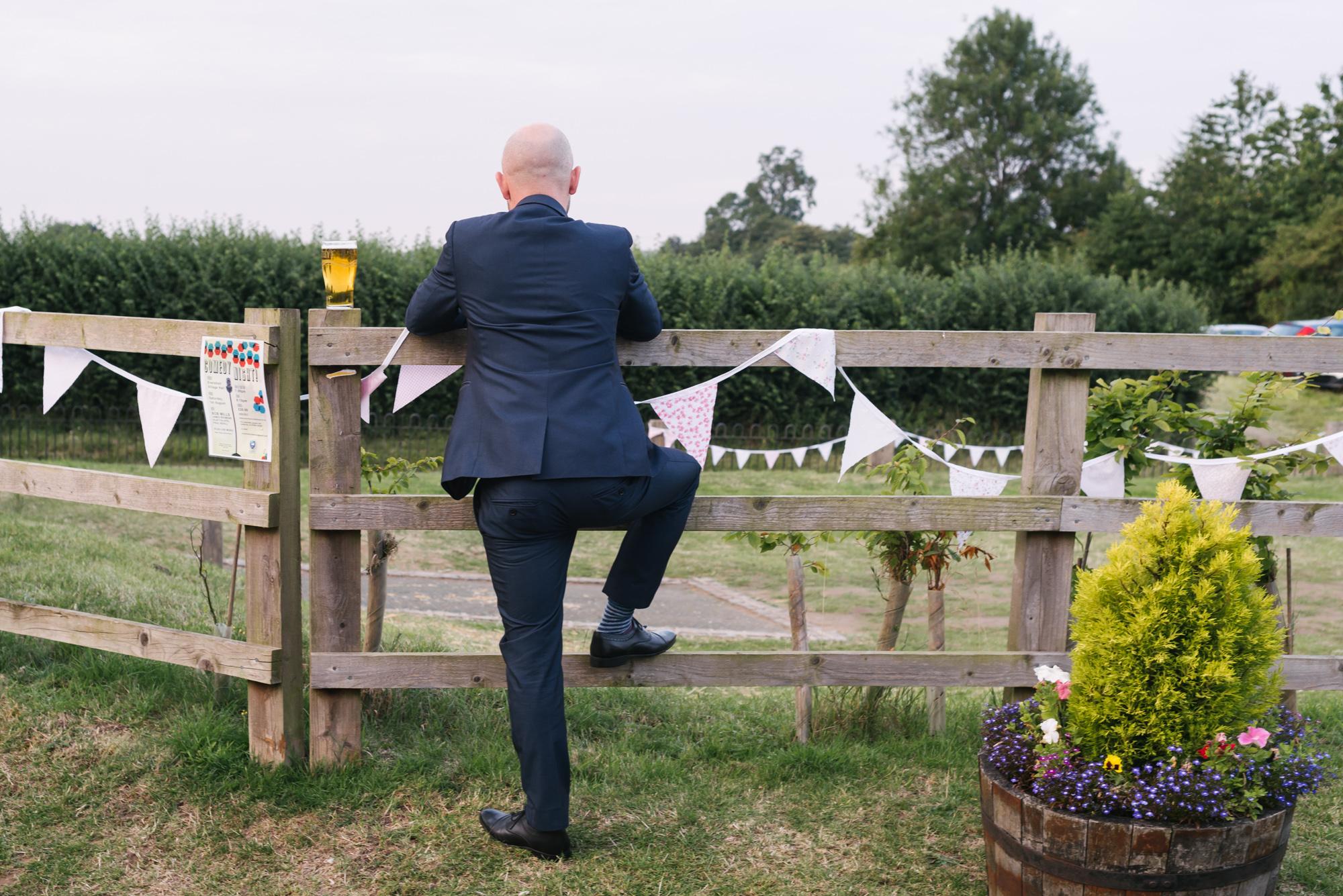 Cricket Club Wedding Tea Party Eversholt Bedfordshire-93