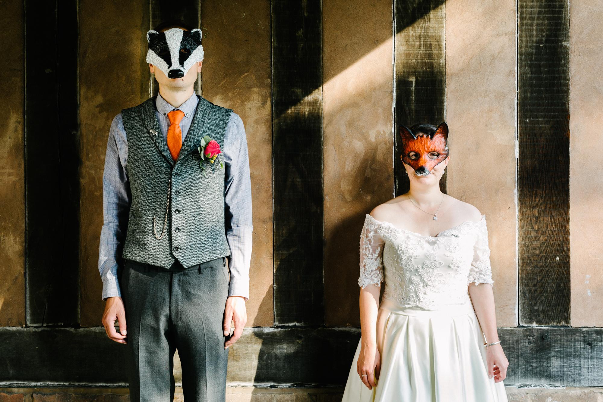 Fantastic Mr Fox Wedding Portrait