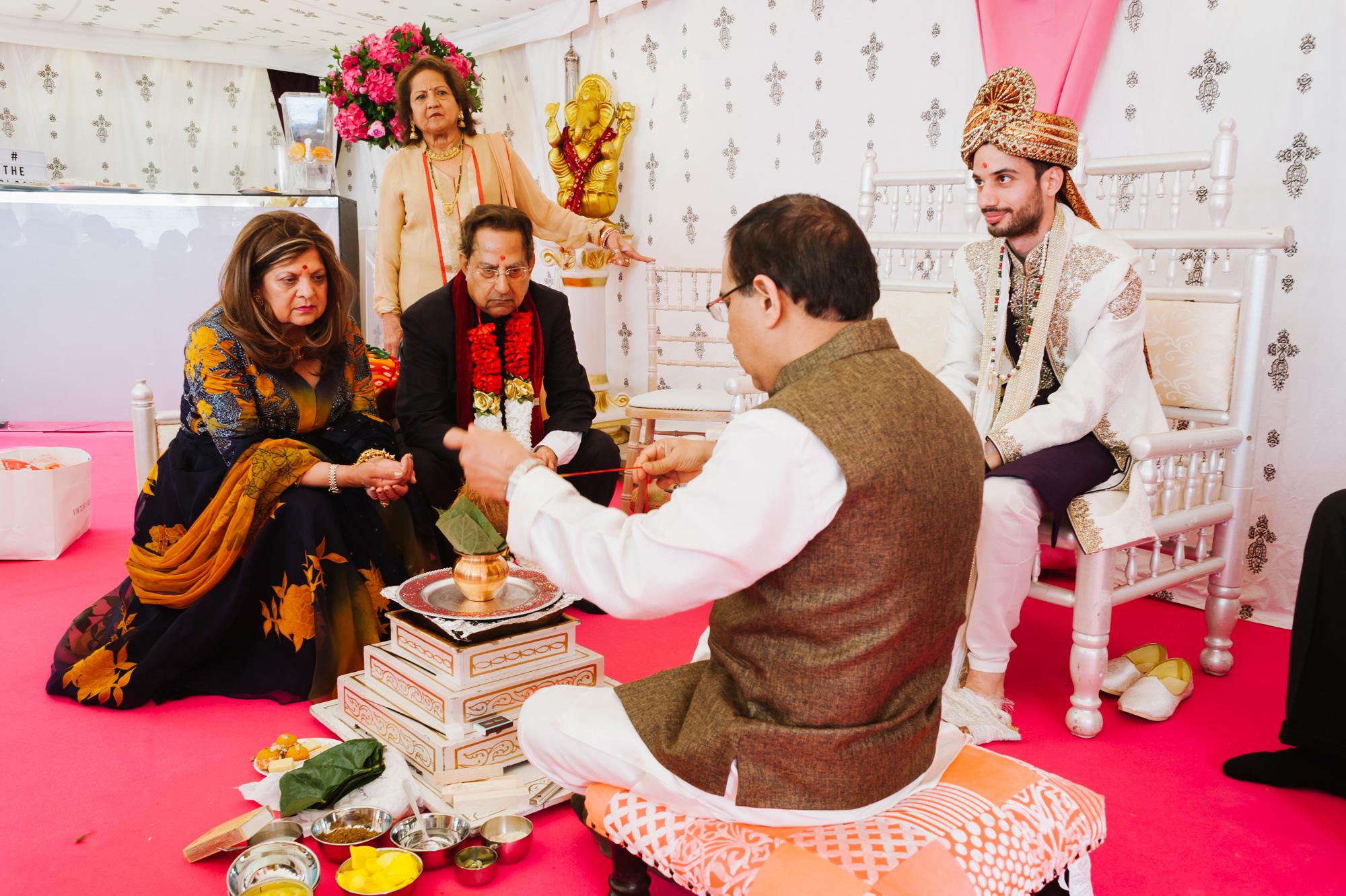 groom indian wedding solihull