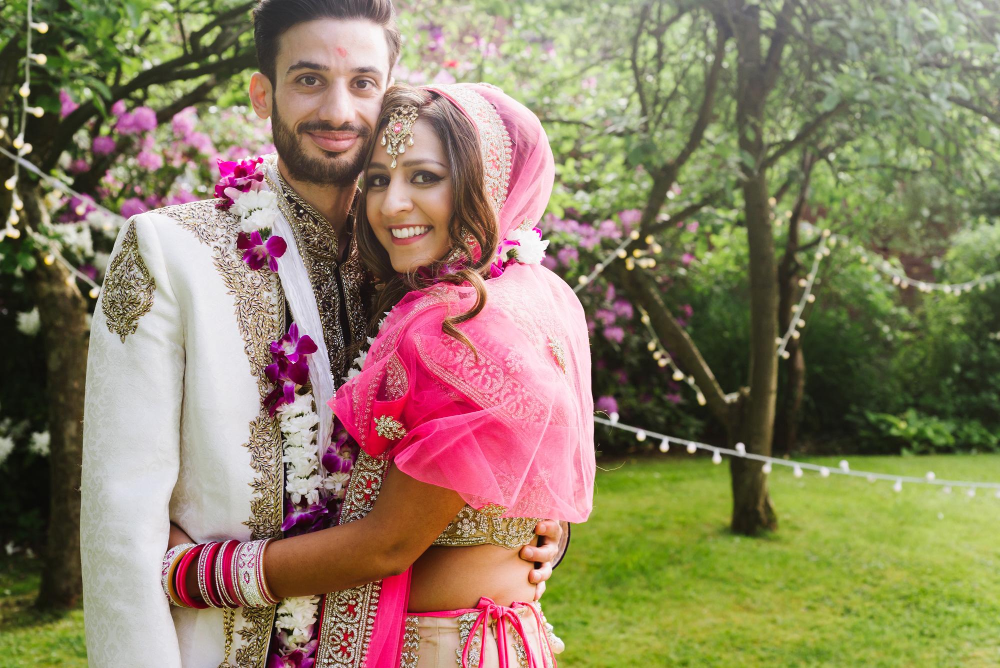 tuk tuk rickshaw bride groom indian wedding solihull