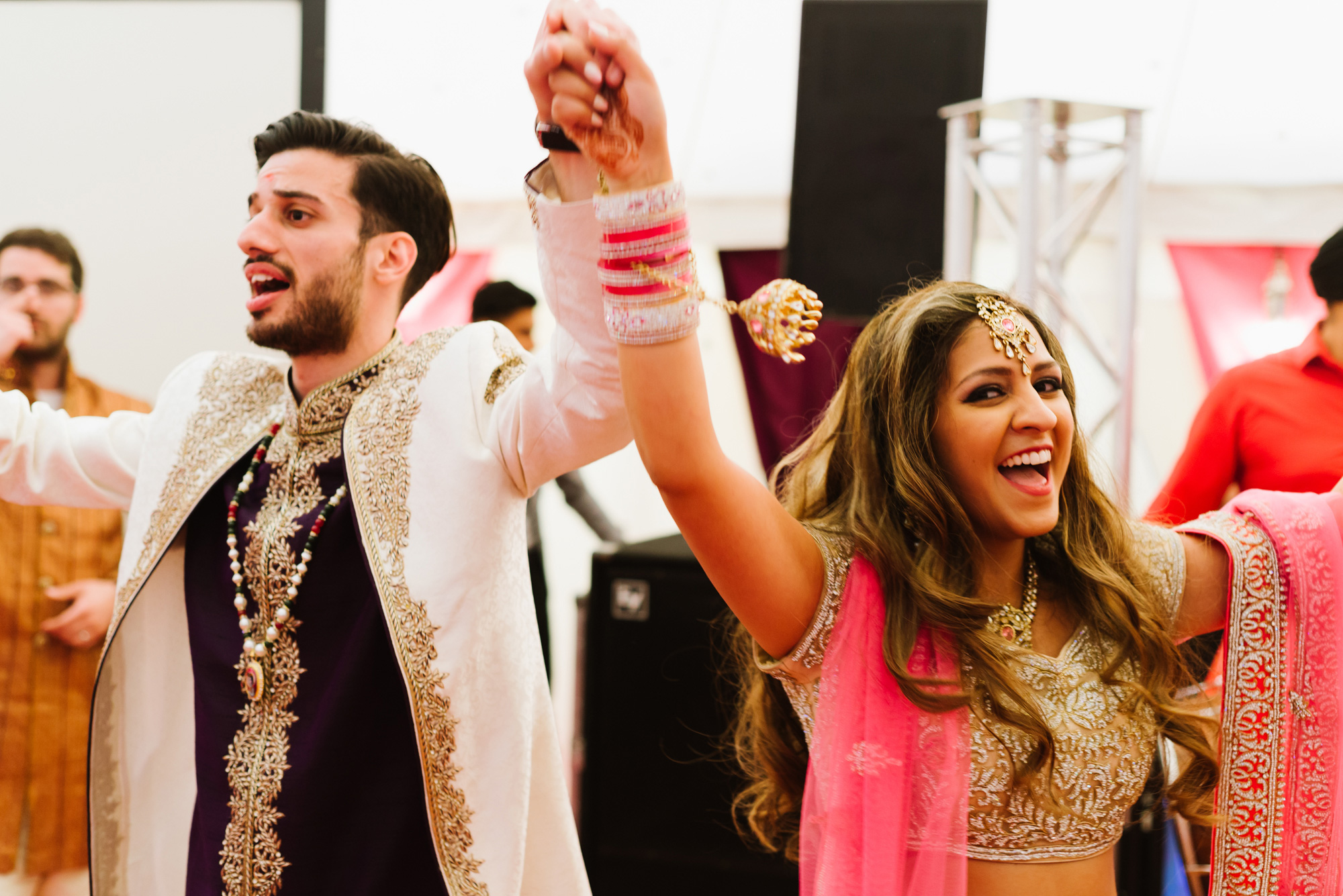bride groom entrance portraits indian wedding solihull