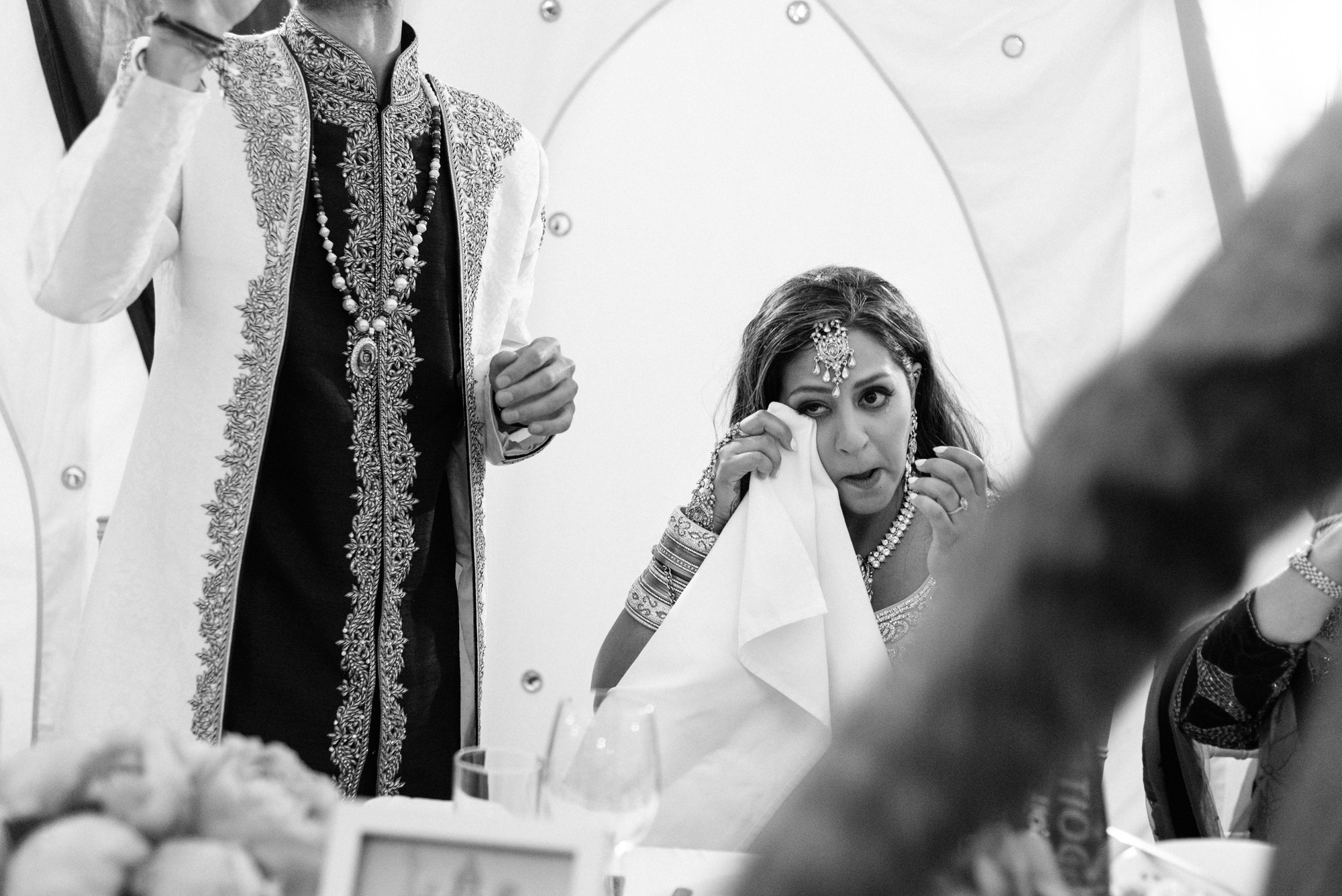 speeches crying laughing indian wedding solihull