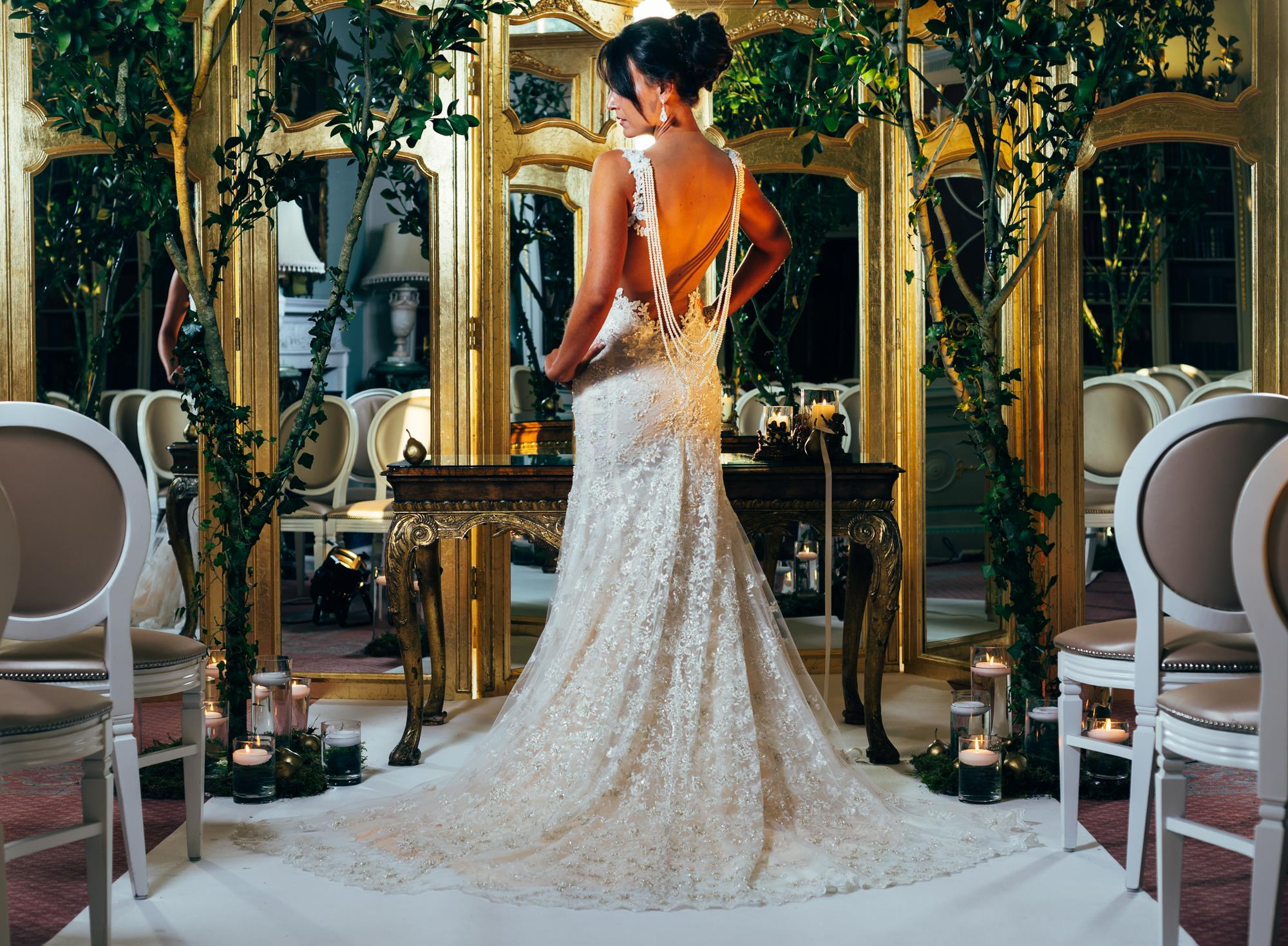 Gold Wedding Inspiration Brocket Hall