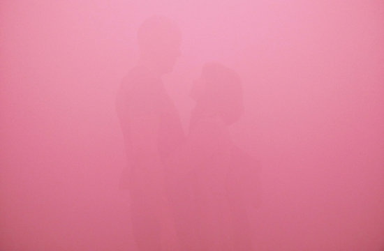 lovers in pink